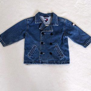 Tommy Hilfiger Pea Coat Jean Jacket Infant 18-24m
